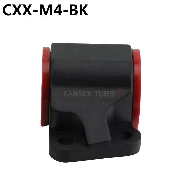 Tansky - Supporto da corsa motore sinistro in alluminio ad alte prestazioni auto da corsa Honda Civic 92-95 CXX-M4-BK
