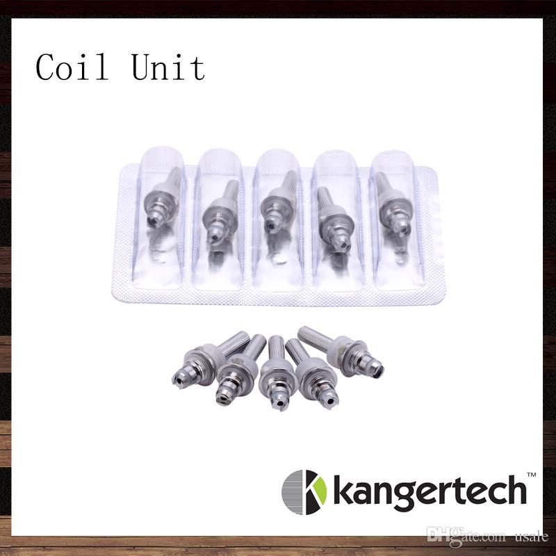 Kangertech Protank Evod Unitank Coil Unit Kanger Protank 2 Evod Unitank T3S MT3S Atomizer Replacement Coil Head 100% Original