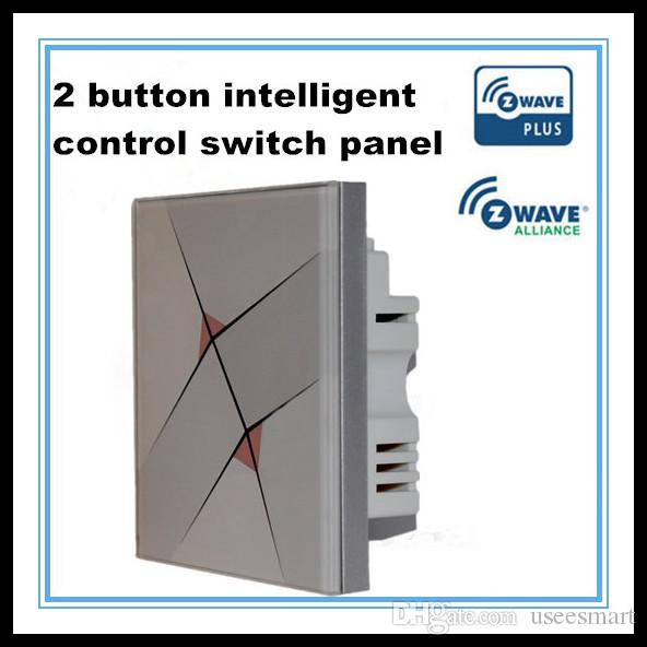 z wave 2 button intelligent control switch 2017 z wave 2 button intelligent control switch panel remote Daisy Chain Wiring-Diagram at readyjetset.co