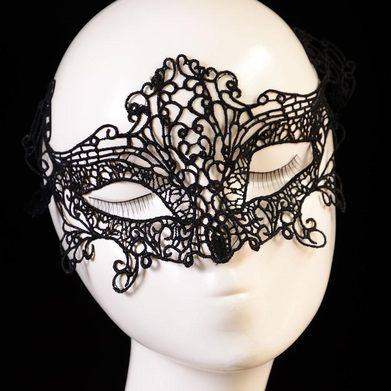 Retro lace mask sexy Hollow Masquerade mask goggles women Upper Half Face mask for masked ball party masks cosplay toys 110015