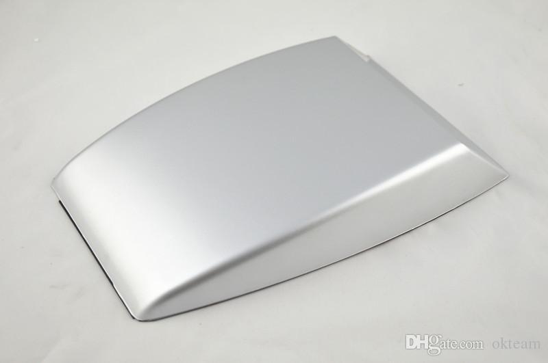 автомобильный стайлинг черный / белый / серебристый Универсальный автомобильный декоративный воздуховод впускной колодец Turbo Bonnet Vent Cover hood украшает бесплатную доставку