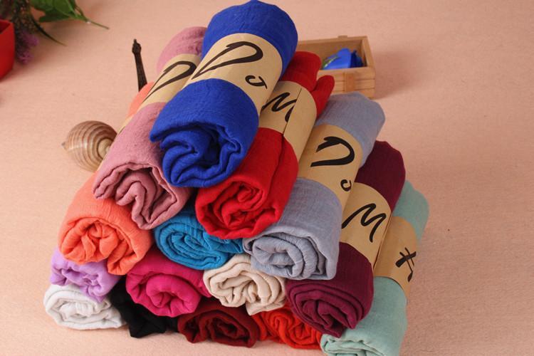 Шарфы для женщин шарфы серый Бегония цветок чернил стиль длинный хлопок девушка шеи шарф мода Шаль Бесплатная доставка a-0279
