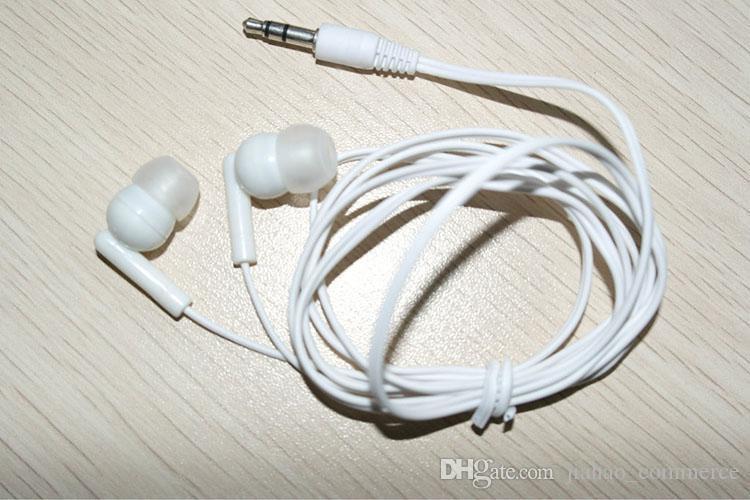 MP3 MP4 PSP 플레이어에 대 한 새로운 유니버설 블랙 헤드폰 3.5 mm 이어폰 이어폰 /