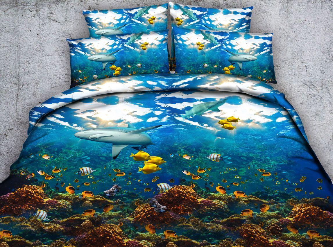reviews wayfair home east pacific bath bed waves urban pdx comforter ocean set