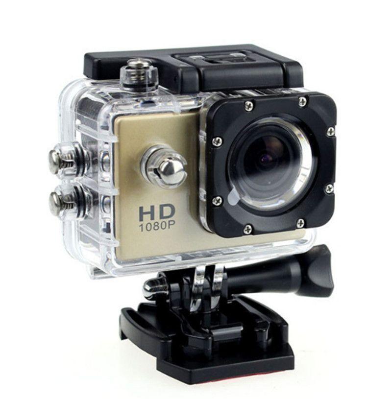 Hot SJ4000 1080 P Full HD Action Digital Sport Camera 2 pulgadas de pantalla bajo prueba de agua 30M DV Grabación Mini Sking Bicycle Photo Video