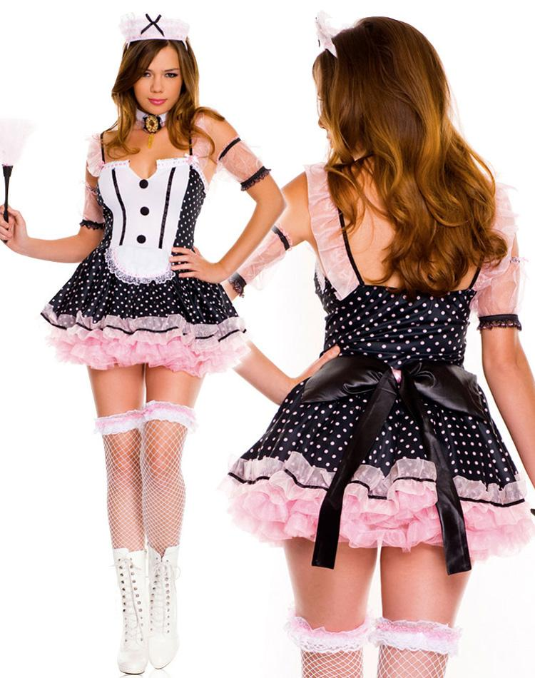 Sexy french maids outfit