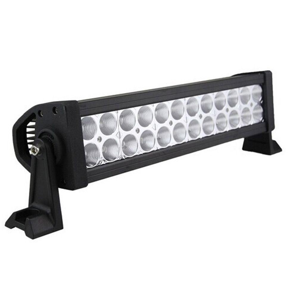 72W led work light dual rows led light bars for tractor forklift off-road ATV excavator heavy duty equipment 72w led light bar
