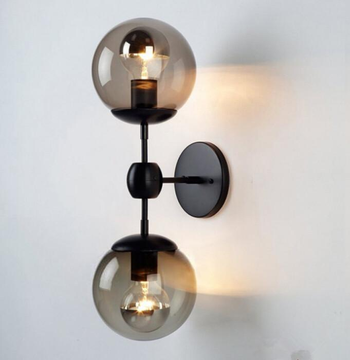 Best Modo Wall Sconce Glass Ball Wall Lamp Modo Wall Light Brief Ceiling  Light Cafe Lamp Living Room Dinning Room Bedroom Lamp Art Chandeliers Under  $99.3 ...