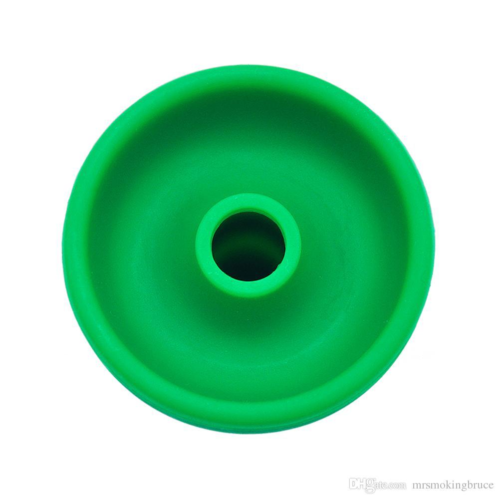 Wholesale Factory Price Shisha Hookah Head silicone Bowl Charcoal Holder Hookah Head Charcoal Stove Burner silicone Bowl narguile