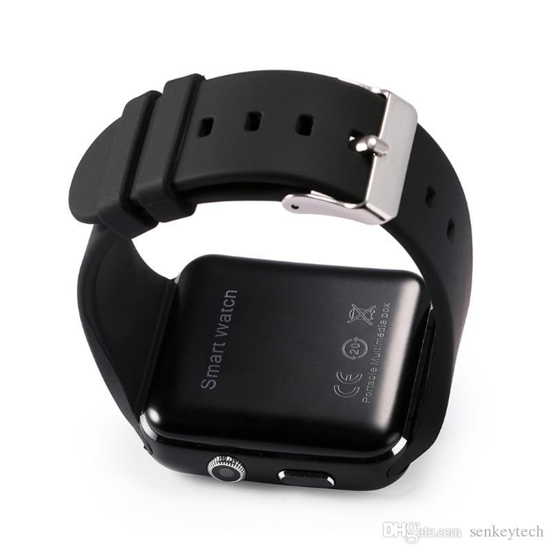 Новые Bluetooth Smart Watch X6 Smartwatch Спортивные часы 1.54