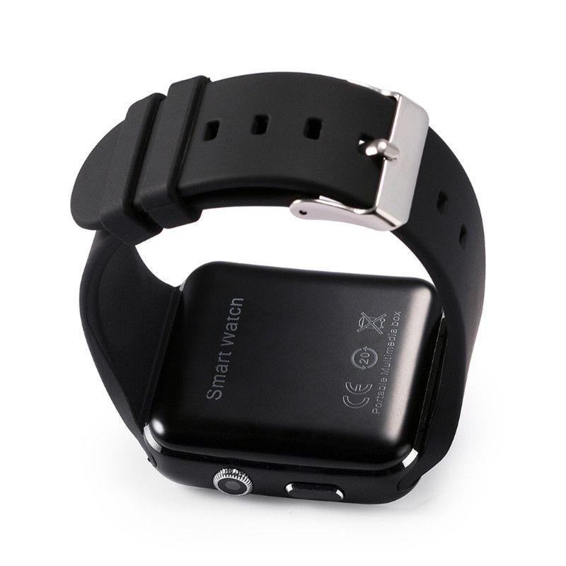 New Bluetooth Relógio Inteligente X6 Smartwatch Relógio Do Esporte 1.54