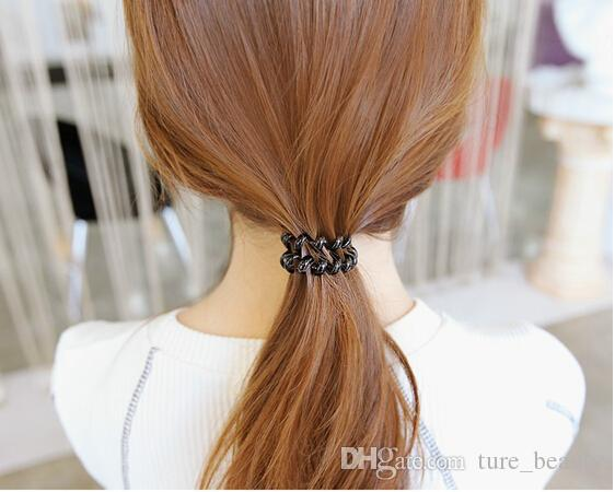 5%offhousaleScrunchies Telephone coil Colored Elastic Hair Bands For Girl Hair Scrunchy with a small gift Hair Accessories