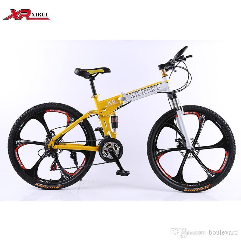 Mountain Bike 24 Speed Folding Bicycles Xirui Bike 26inch