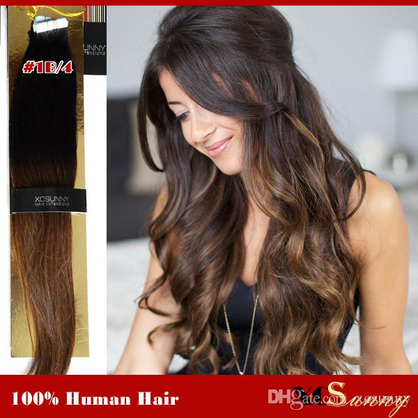 Best ombre tape hair extensions to buy buy new ombre tape hair cheap straight tape in hair extensions best under 100 remy hair hair extensions adhesive pmusecretfo Choice Image