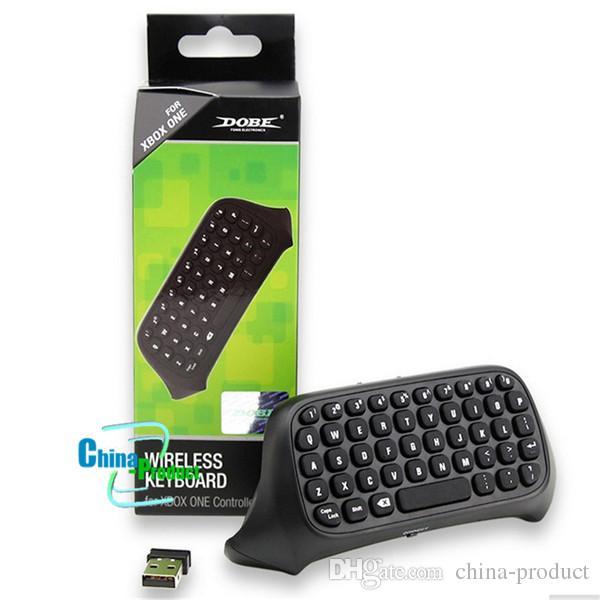 Tastiera del computer portatile NON russa Tastiera wireless 10M Mini Professionale Mini Professionale da 10 GB Microsoft Xbox One Console Controller Nero 010211