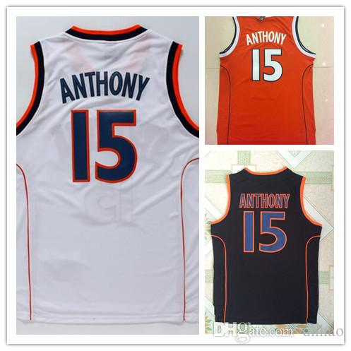 NCAA Syracuse College Jerseys  7 Carmelo Anthony Jersey Orange Black White  Top Quality Stitched Anthony Jerseys From China Basketball Jerseys Seller  Dhhao ... 3c5a3dbb7