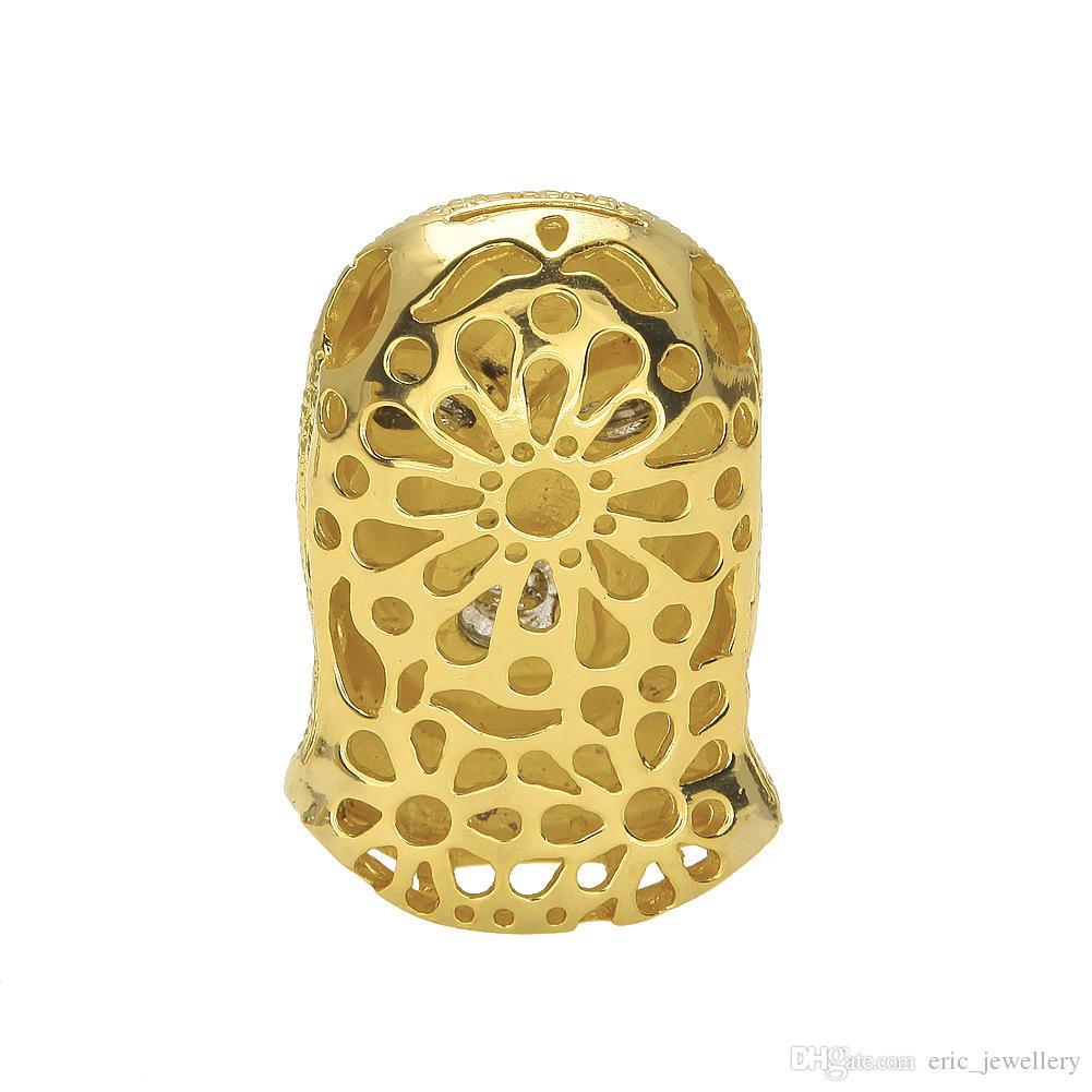 Ciondolo pendente CSGO Hip Hop Mens stile punk 18K lega oro argento placcato testa maschera pendente di fascino Catena cubana di alta qualità