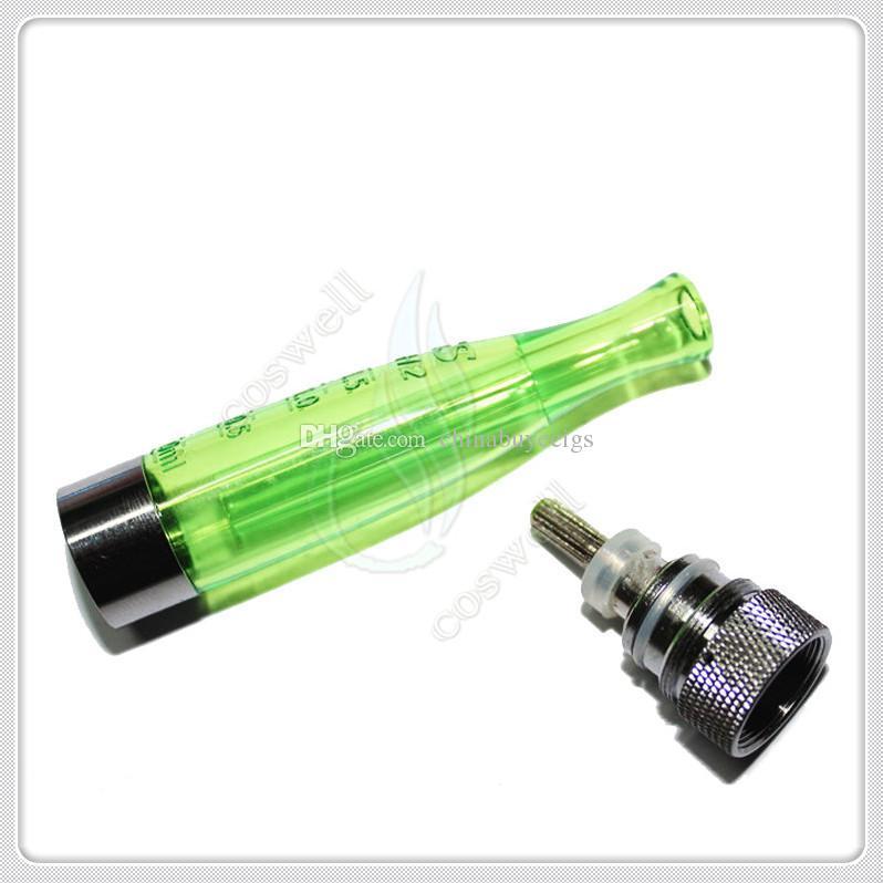 Qualidade superior GS H2 Clearomizer rebuildable bobinas atomizador GS-H2 No Wick nenhum Burning vender e cig cigarro eletrônico ego bateria vapor tanque DHL