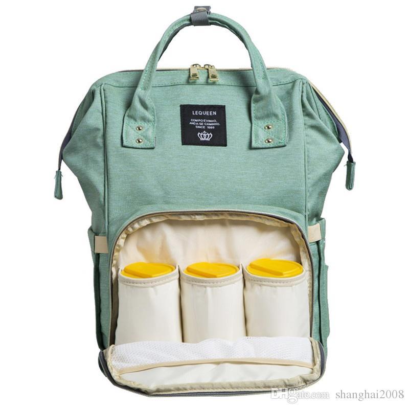 2018 Land Mama Rucksäcke Windeln Taschen Mutter Mutterschaft Windel Rucksack große Volumen Outdoor Reisetaschen Organizer beste Weihnachtsgeschenk