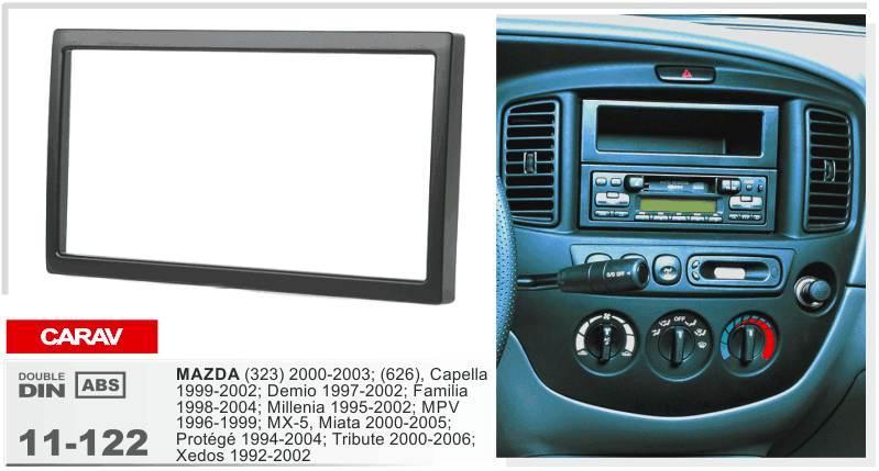 Carav 11 122 Top Quality Radio Fascia For Mazda 323 626familia Rhdhgate: 2000 Mazda Miata Radio Replacement At Gmaili.net