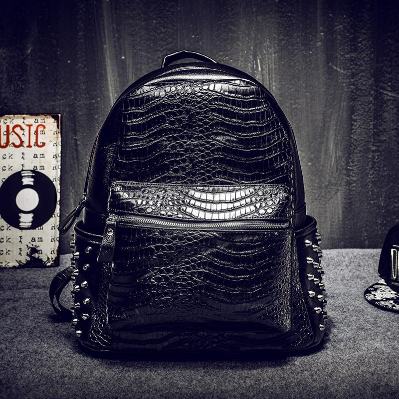 Men leather backpack absolutly special cheap leather bags crack grain leather Intellectuals casual backpack cost prices sale