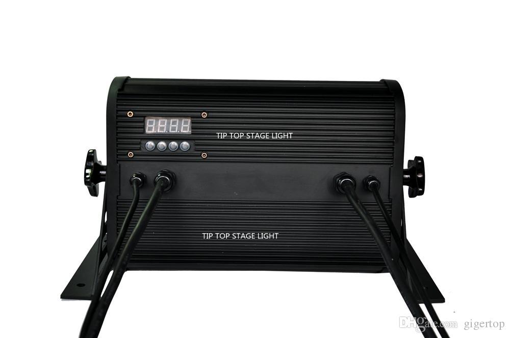 Professioneller Wand-Unterlegscheiben-Aluminiumkasten LED-54x3W imprägniern Stadiums-Licht IP65 200W RGBW DMX kein Geräusch und Aufflackern CER-Zertifikat