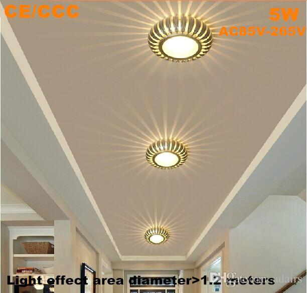 2018 5w super bright led ceiling light hallway lights aisle lamps see larger image mozeypictures Choice Image