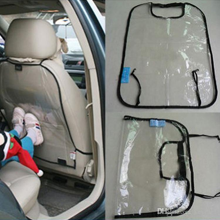 New Car Covers Seat Back Protector For Kids Children Kick Mat Mud Cleaner Baby Dogs From Dirt BlackBlue LY302