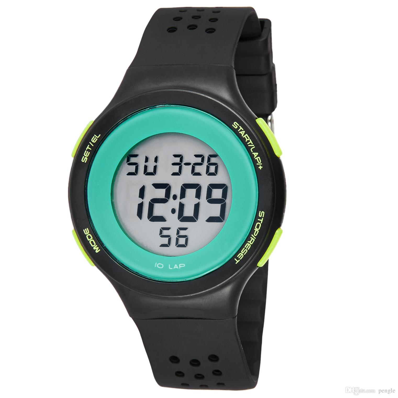 Hot Sale Sport Watches Casual Watches Swimming Waterproof Watches LED Digital Multifunctional Wristwatches For Men Gift
