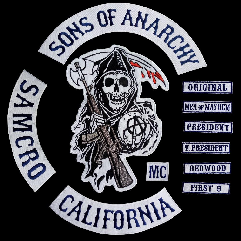 2018 new 2014 fashion motorcycle cool sons of anarchy embroidery 2018 new 2014 fashion motorcycle cool sons of anarchy embroidery chapter cloth labeling badges damask patches from beautifully520 3518 dhgate buycottarizona Gallery