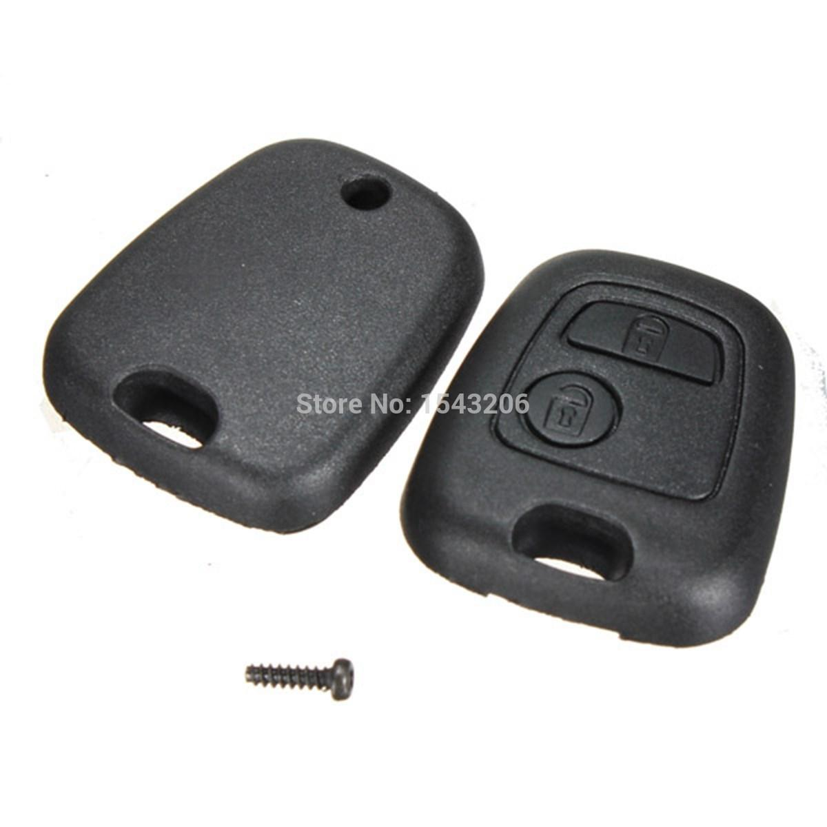 Remote Key Case Shell For Citroen C1 C2 C3 C4 XSARA Picasso Peugeot 107 207 307 407 106 206 306 406 order<$18no track