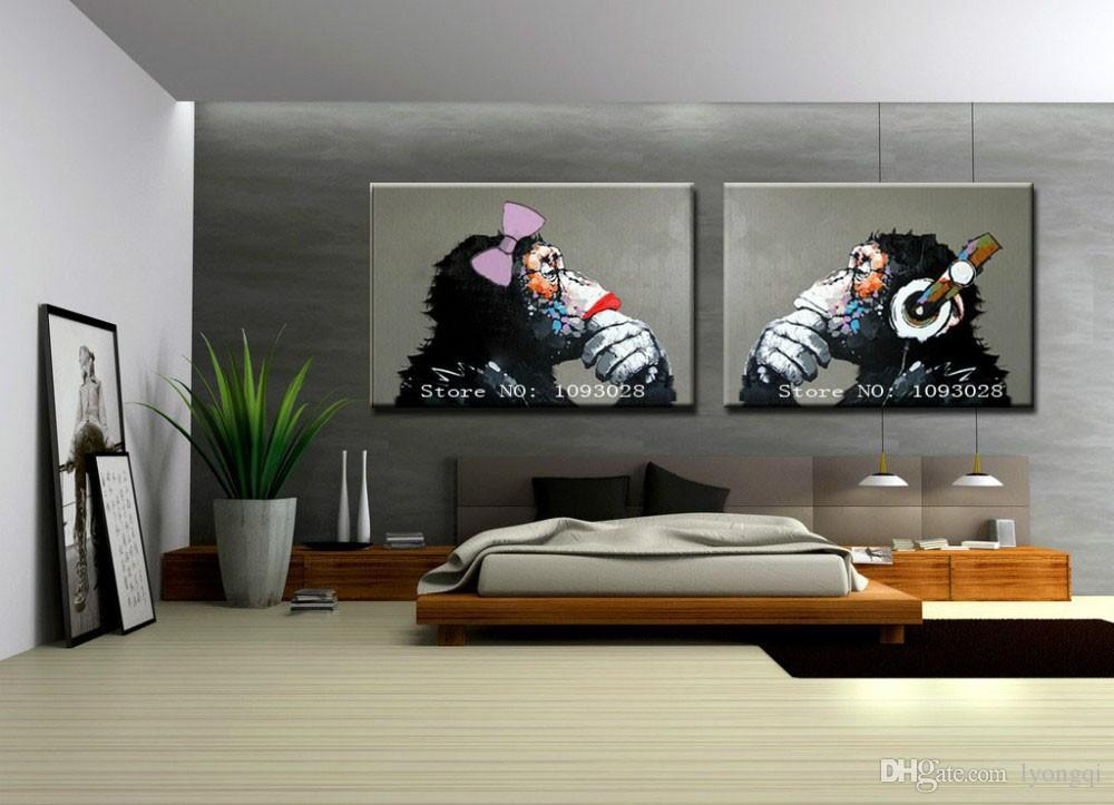 modern artwork for living room. We offer large discount for order  Allow mix The modern wall art Home abstract decorative oil paintings 100 hand painted A beautiful artwork 2018 Hand Painted Hi Q Modern Wall Art Picture Decor Living