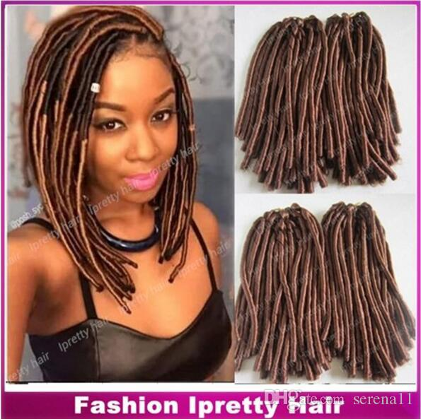 2018 new chic locs high quality 15 fold brown color synthetic 2018 new chic locs high quality 15 fold brown color synthetic dreadlocks faux twist hair extension for black women 100gpack from serena11 3803 dhgate pmusecretfo Gallery