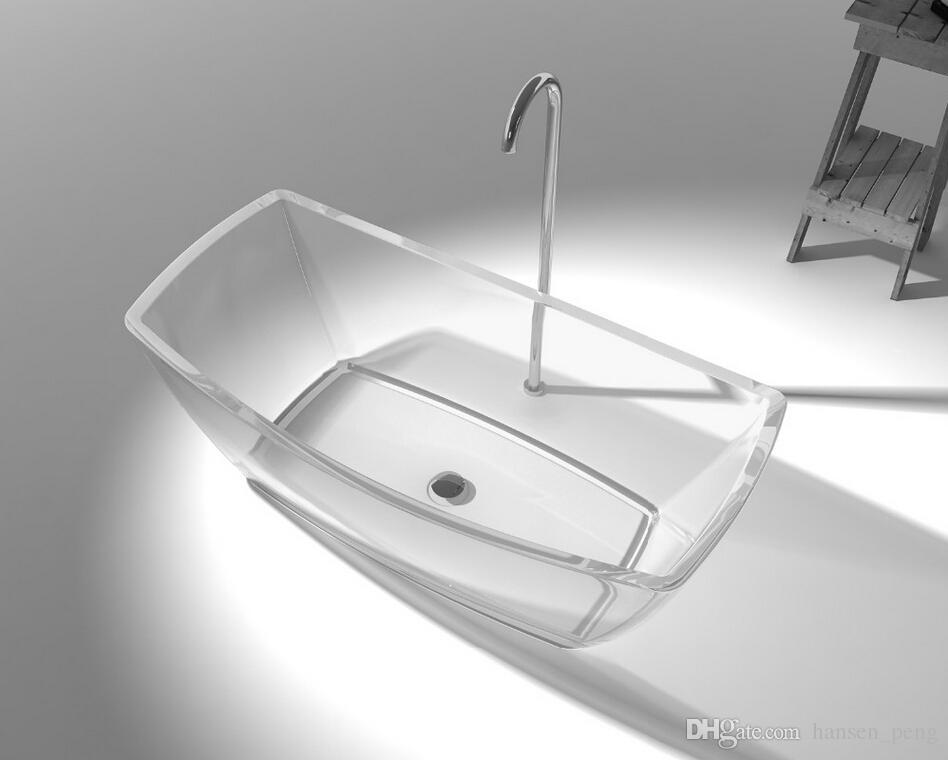 2019 1600x800x580mm Becco Designer Solid Surface Bathtub