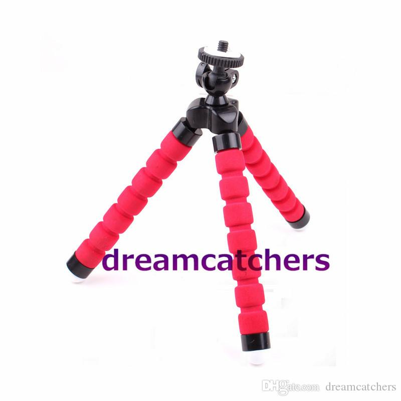 Holder Flexible Octopus Tripod Bracket Selfie Stand Mount Monopod Camera Stand Flexible Leg Tripod Accessories for iphone 6s Samsung Camera
