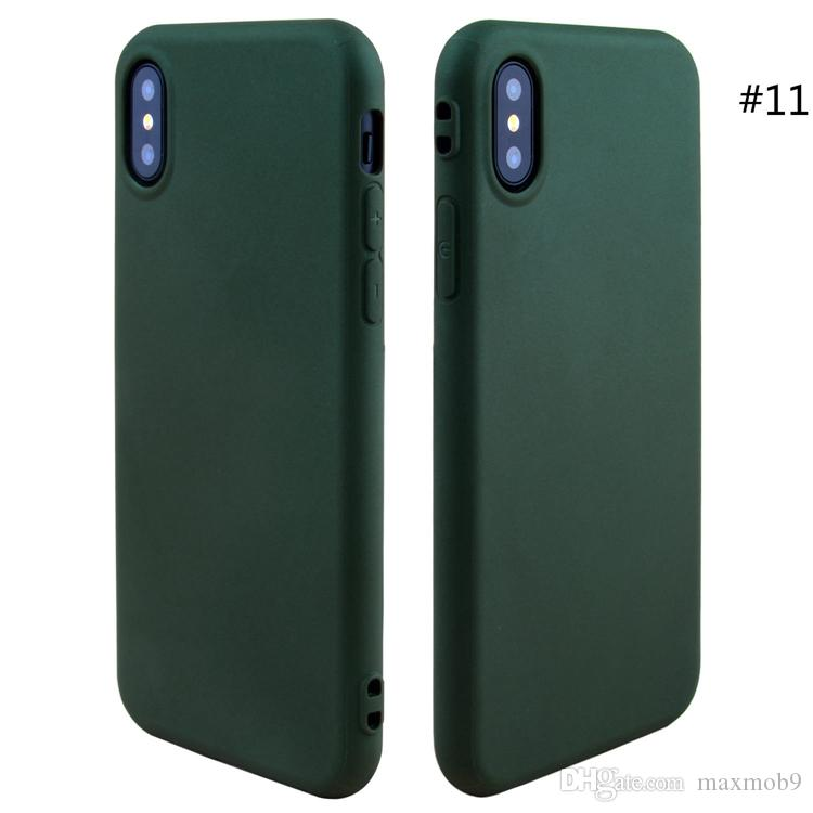 Neuer Handyfall für iphone 12 mini 11 pro XS max XR X 6S 7 8 und weicher Silikon-Handyfall TPU dünnes ultra dünnes billig Kastenabdeckung