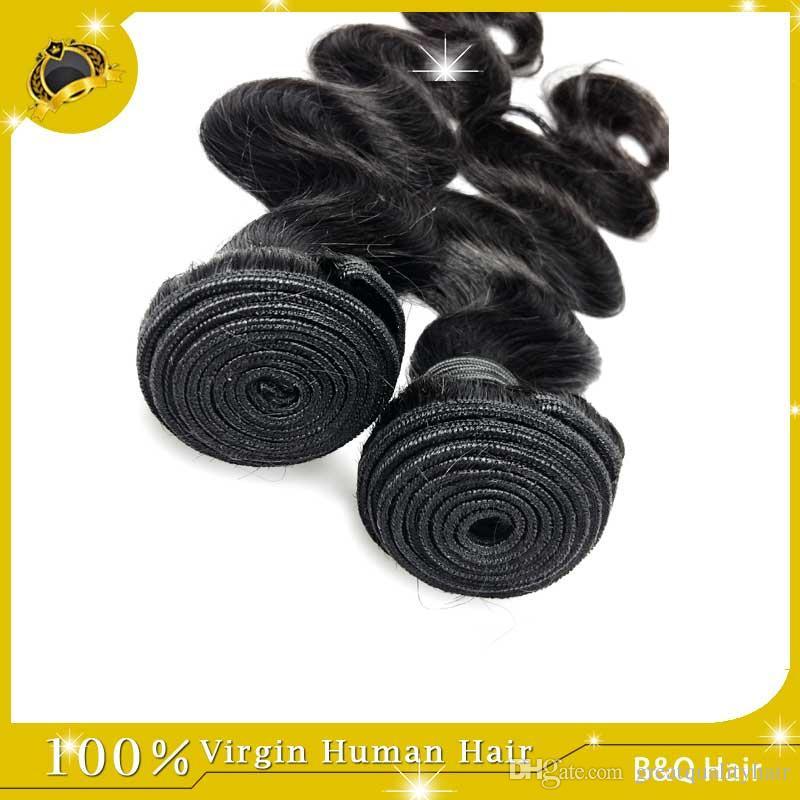 Spedizione gratuita!! All'ingrosso non trasformato 100 estensioni dei capelli umani capelli malesi peruviani peruviani capelli a onda del corpo weaves