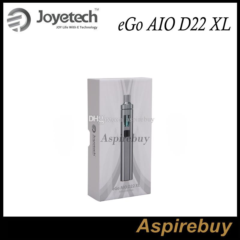 Joyetech eGo AIO D22 XL Kit All-In-ONE Style 3.5ML E-Juice Capacity 2300mah Battery Adjustment of Air Inflow E-juice Filling 100% Authentic