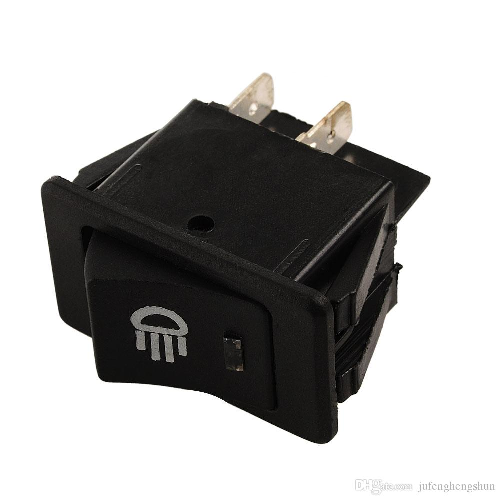 Car Rocker Switch 12V 35A ON OFF 4 Pin with Blue LED Light Universal Car Fog Light Switch ON-OFF Dash Dashboard