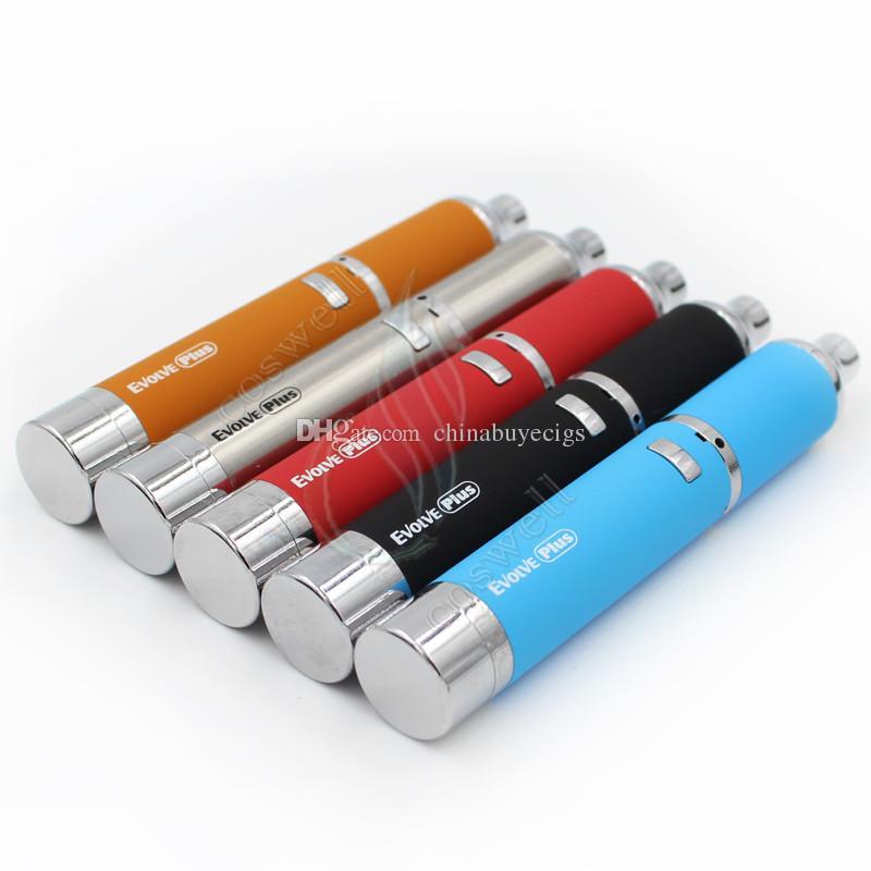 Original Yocan Evolve Além Kit Erva Vaporizador de Ervas 1100 mAh vape caneta erva seca Vaporizadores Caneta Dual Quartz Coil e cigs cigarros kits de vapor