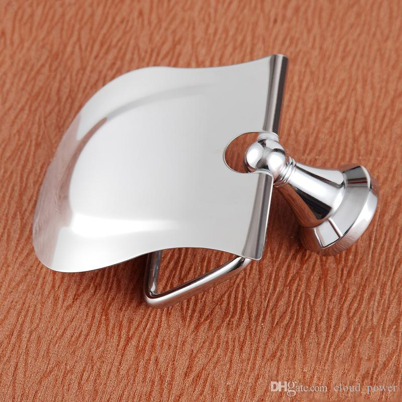 Luxury Golden Roll Holder with 304 Stainless Steel and Copper Toilet Paper Holder/Rack for the Bathroom