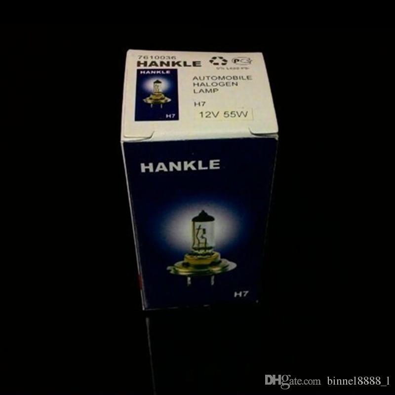 New 12V 55W H7 Ultra-white light Xenon HID Halogen Car Head Light Bulbs Lamp 6500K Auto Parts Car Light Source Accessories