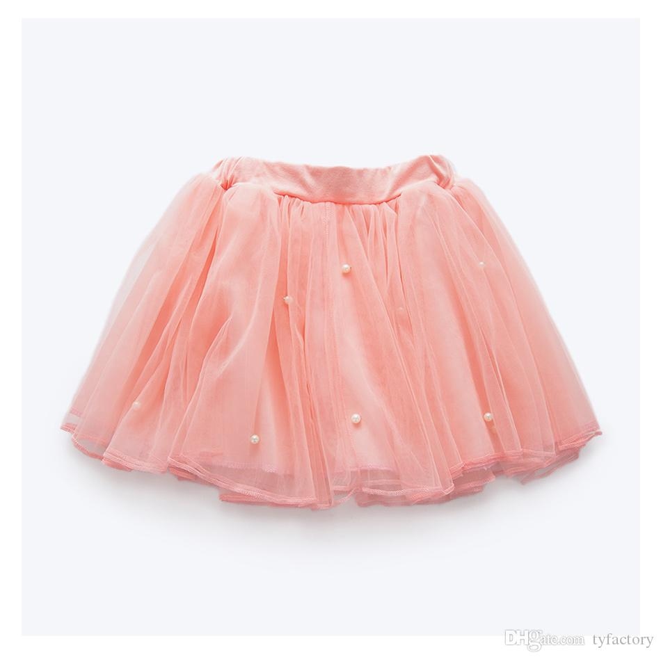 girls vestidos suits lovely fashion pearls lace Tutu style layered floral flower pink dresses long sleeved t-shirts mini dress