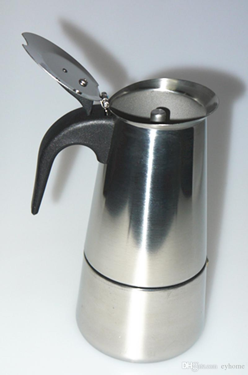 2019 High Quality Stovetop Coffee Maker Moka Pot Espresso