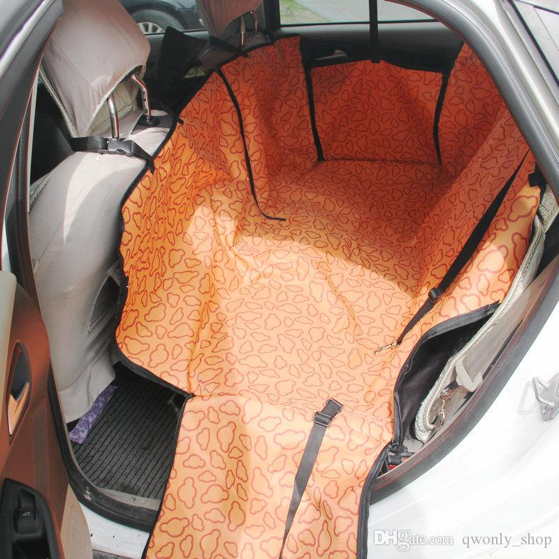 Haute Qualité Pet Chien Chat Voiture Arrière Arrière Siège Couverture Car Dog Mat Tapis Couverture De Couverture Tapis Hamac Coussin Protecteur 8 Couleurs