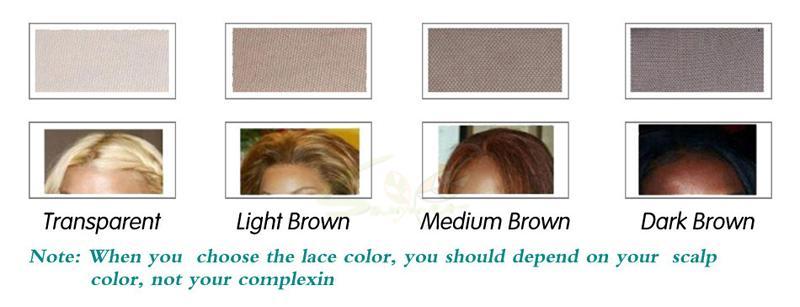 Parrucche 100% non trattate del merletto anteriore dei capelli umani parrucche brasiliane sciolte della parte anteriore del pizzo 8A le donne nere parrucca piena del pizzo con i capelli del bambino