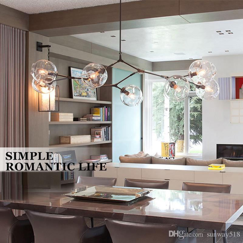 Lindsey Adelman Chandeliers lighting modern lamp novelty pendant lamp natural tree branch suspension Christmas light hotel dinning room