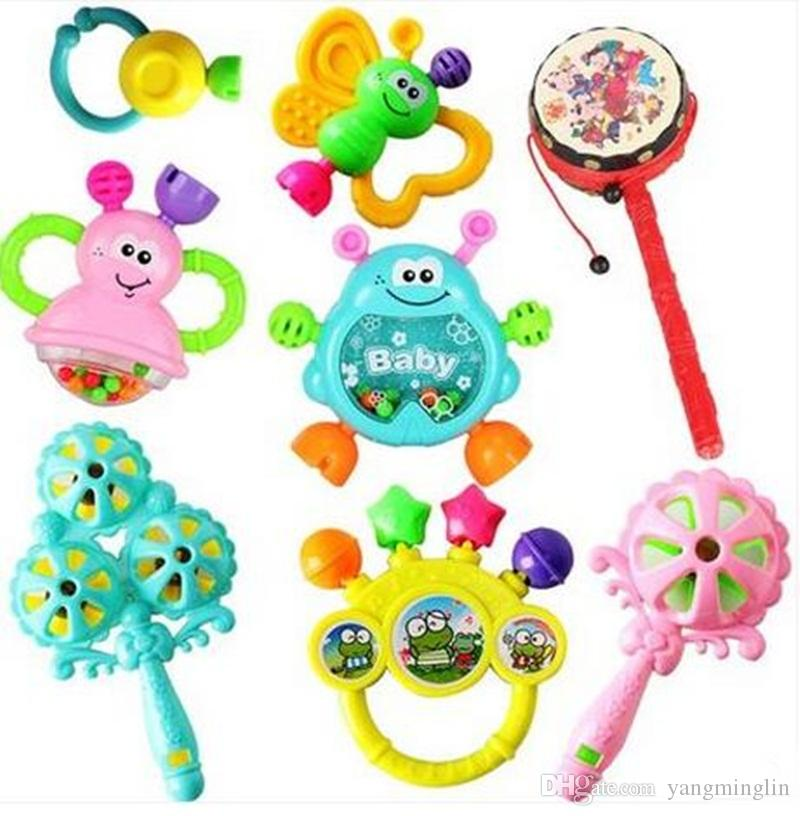 Developmental Baby Toys Infant Kids Early Educational Rattle Newborn ...