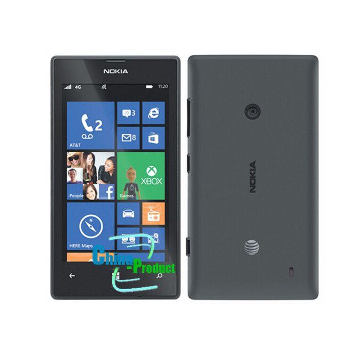 Refurbished Original 4inch Nokia lumia 520 cellphone 512M/8G dual camera dual core GPS Windows OS unlocked phone