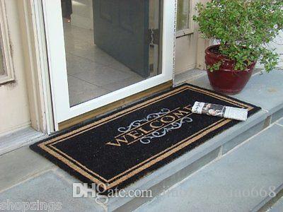 Welcome Mat Heavy Duty Large Coir Doormat Front Porch